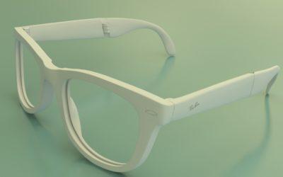 Солнечные очки. Модель выполнена под 3D-печать по заказу Solutions 3D. 2015 год.